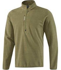 trainingsjack reebok sport fitness outdoor fleece quarter zip