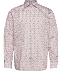 contemporary fit offwhite/brown signature twill shirt overhemd business roze eton