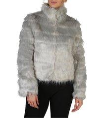 fake fur jacket w84l58