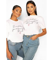 100% sales donated to charity t-shirt, white