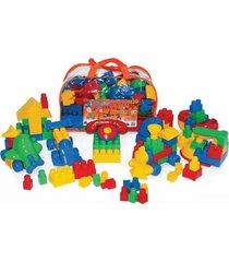 conjunto quebra-cuca com 120 em plástico peças na mochila - jottplay