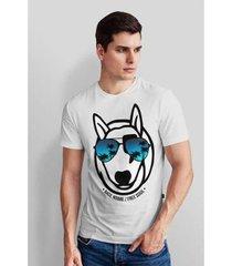 camiseta base nobre rayban t- shirt masculina - masculino