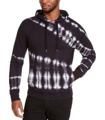 inc men's slant tie dye hoodie, created for macy's
