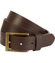 cinturon 2 barrel belt marrón billabong