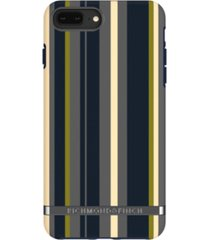 richmond & finch navy stripes case for iphone 6/6s plus, 7 plus and 8 plus