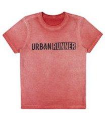 camiseta lecimar tween em meia malha alto veráo vermelho copas