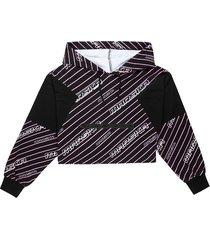 bluza w neonowe paski