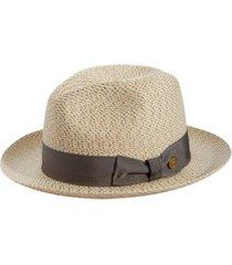 stetson men's emin straw hat