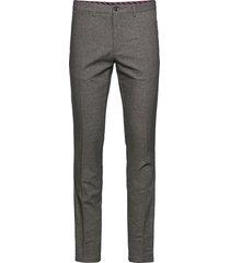 denton chino wool look flex kostuumbroek formele broek beige tommy hilfiger