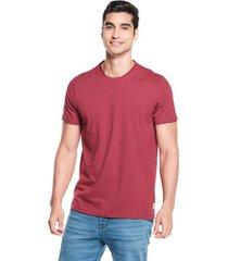 camiseta slim maxi print vino claro