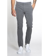 plain pantalon josh 30121 grey melange - grijs