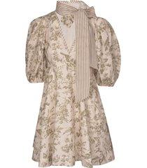 zimmermann linen day mini dress