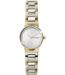 relógio skagen feminino freja bicolor skw2790/1kn skw2790/1kn