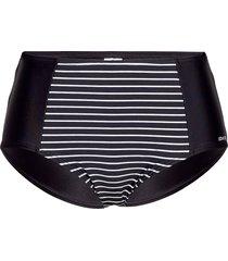 wild in stripes, maxibrief bla bikinitrosa svart abecita