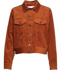 jazlyniw jacket sommarjacka tunn jacka brun inwear