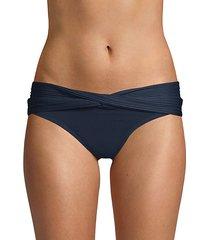 front-twist bikini bottom