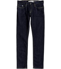skinny jeans dc shoes worker indigo rinse slim fit jeans