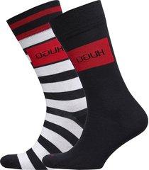 2p stripe cc underwear socks regular socks multi/mönstrad hugo