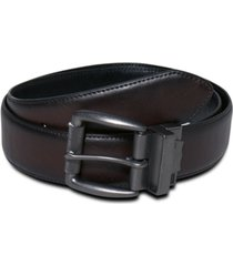 levi's men's big & tall reversible leather belt