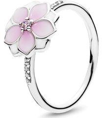 anel magnólia - flor da juventude.