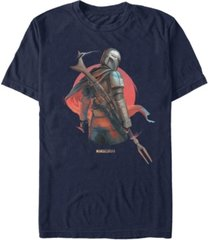 fifth sun star wars the mandalorian dusty sunset short sleeve men's t-shirt