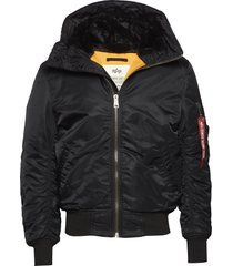 ma-1 hooded bomberjack jack zwart alpha industries