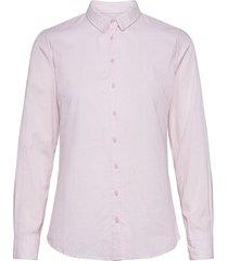 frzaoxford 1 shirt overhemd met lange mouwen roze fransa