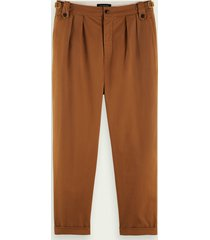 scotch & soda loose tapered fit chino