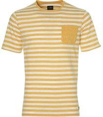 jac hensen t-shirt - modern fit - geel
