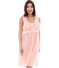 camisola conforto regata com fita de cetim feminina luna cuore