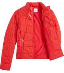 chaqueta jacket rojo calvin klein