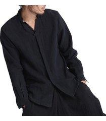 camisetas confortables sueltas incerun de algodón de vintage de estilo chino talla plus vestido de zen ropa de tã© para hombres