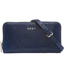 dkny sally leather wallet on a chain, created for macy's