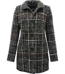 lebek coat wol 30380019 zwart