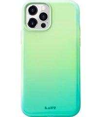 laut huex fade iphone 12/12 pro case - green