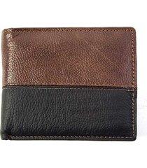 billetera marrón tropea bill