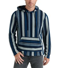 lucky brand men's striped baja pullover
