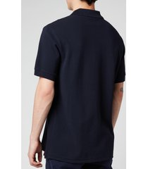 ps paul smith men's zebra logo regular fit polo shirt - dark navy - xl