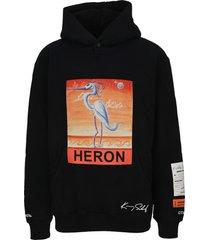 heron preston heron preston x kenny scharf hoodie