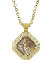 natural fancy diamond pendant necklace