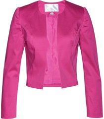 blazer corto (fucsia) - bpc selection