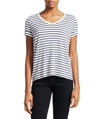soft touch striped tee