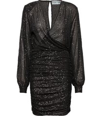 ava dress dresses sequin dresses zwart ravn