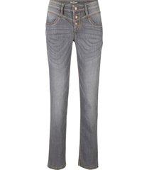 jeans elasticizzati authentik straight (grigio) - john baner jeanswear