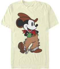 fifth sun men's cowboy mickey short sleeve t-shirt