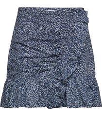 boutiq blosm rf skrt kort kjol blå michael kors
