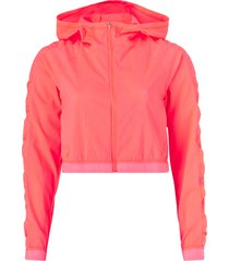 träningsjacka be bold woven jacket