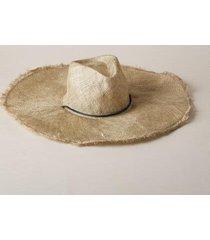 sundance catalog women's pia hat in champagne