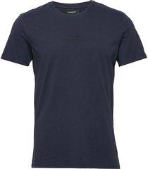 m original light tee t-shirts short-sleeved blå peak performance
