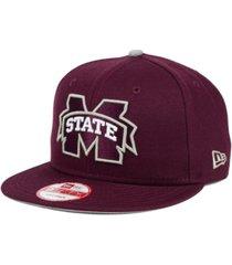new era mississippi state bulldogs core 9fifty snapback cap